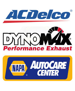 ACDelco®, DynoMax® Performance Exhaust, NAPA AutoCare Center