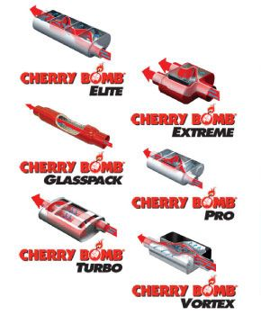Cherry Bomb® (Elite, Extreme, Glasspack, Pro, Turbo, Vortex)